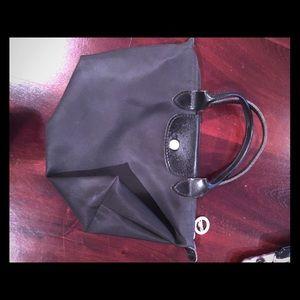 Mini longchamp bag black
